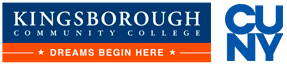 logo for Kingsborough Community College and City University of New York (CUNY)